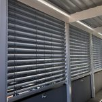 External Venetian Blinds H3 White Balcony 3