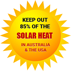 Solar Heat in Australia & The USA Badge