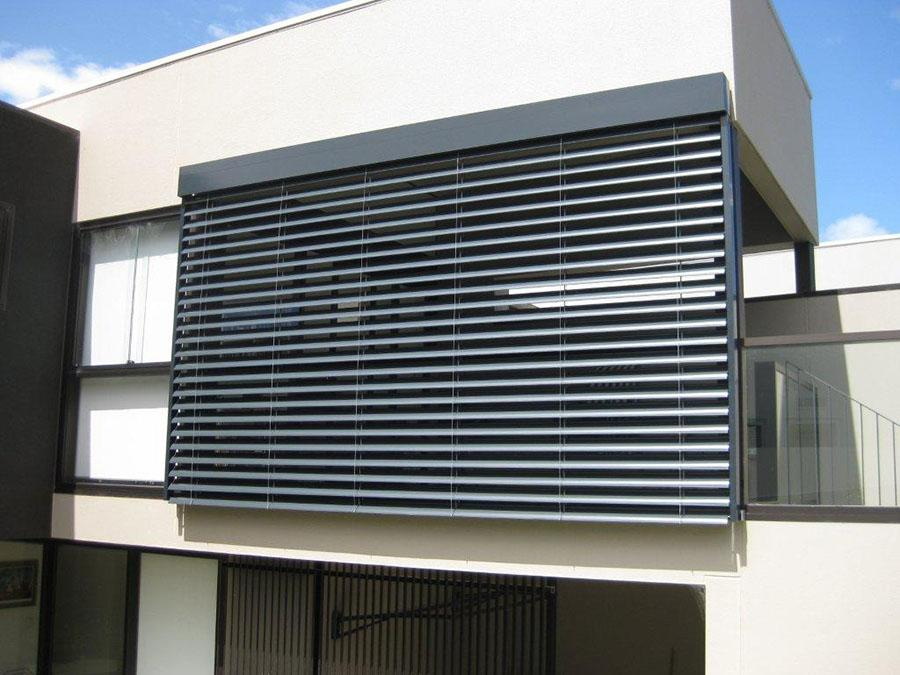External Window Louvres in Melbourne, Sydney, Brisbane, External retractable blinds