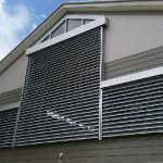 120S Commercial External Venetian Blinds Open