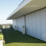 Outdoor Venetian Blinds Superior 80c White Slat Closed