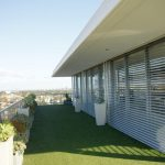 Outdoor Venetian Blinds Superior 80c White Slat Open